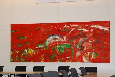 Rotgrüne Träume im Fraktionssaal©MDG-Nienburg