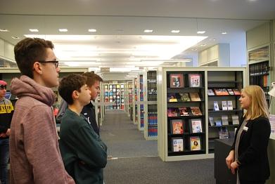Die Bibliothek des Landtags©MDG-Nienburg