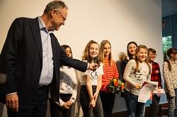 Ministerpräsident befragt MDG-Schülerin
