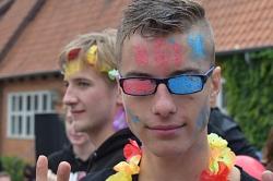 Abiturienten feiern Abistreich