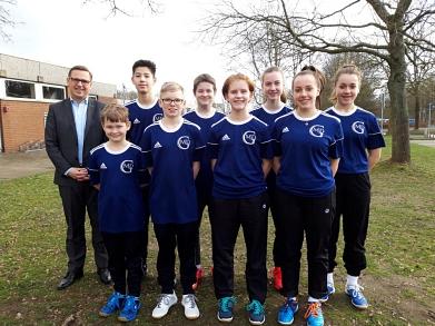 Badminton-Teilnehmer 2018/19©MDG-Nienburg