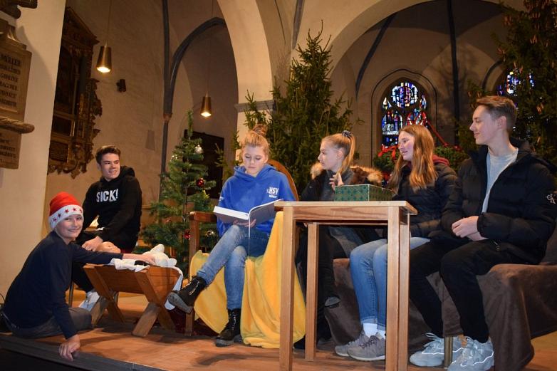 Weihnachtsgottesdienst Religion Abmeier©MDG-Nienburg