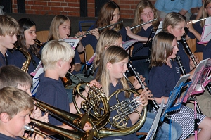 Bläserklasse Sommerkonzert 2007©Marion-Dönhoff-Gymnasium