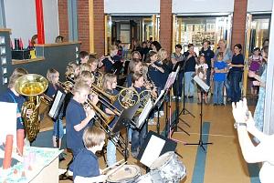 Bläserklasse TdoT 2011©Marion-Dönhoff-Gymnasium