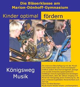 Bläserklassen Logo©Marion-Dönhoff-Gymnasium