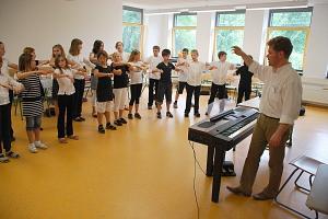 Chorklasse Stimmbildung 2008©Marion-Dönhoff-Gymnasium