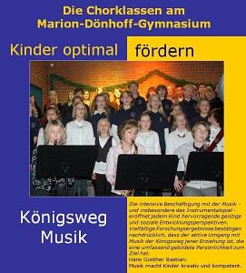 Chorklassen Logo©Marion-Dönhoff-Gymnasium