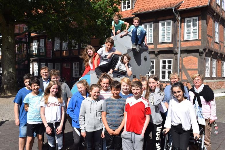 Die besonders fleißigen Spendensammler der 6b©MDG-Nienburg