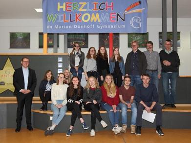 Die dänische Delegation mit den Gastgebern©MDG-Nienburg