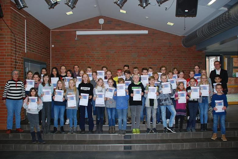 Die über 30 Preisträger©MDG-Nienburg