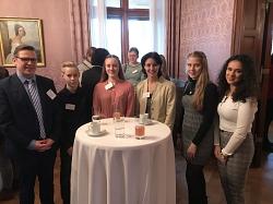 Die Vertreter des MDG bei der eTwinning-Ehrung