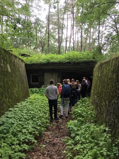 Eingang in den unterirdischen Bereich©MDG-Nienburg
