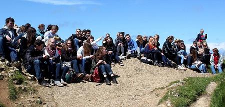 Frankreich-Austausch-Gesamtgruppe-2-2014