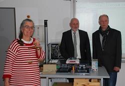 Frau Jäger, Herr Fuchs und Herr Rohlfs