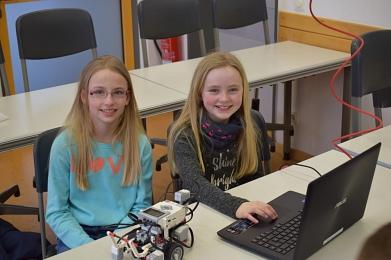 Kleine LEGO-Roboter lassen sich jetzt noch einfacher steuern©MDG-Nienburg