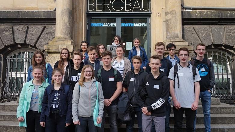 Teilnehmer MINT-EC-Camp Aachen©MDG-Nienburg