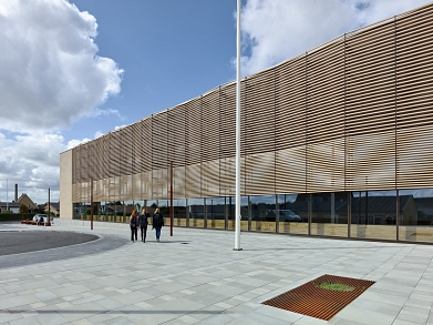 Gymnasium Nyborg © www.behance.net