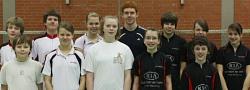 Badmintonmannschaft