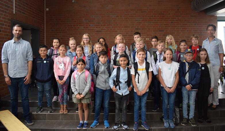 Klasse 5b mit Frau Brüggemann und Herrn Roters©MDG-Nienburg