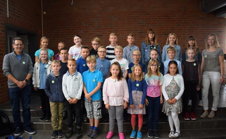 Klasse 5c mit Frau Arndt und Herrn Rux©MDG-Nienburg