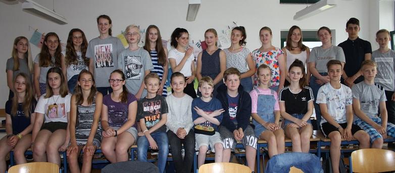 Klasse 7d 2019©MDG-Nienburg