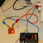 LED-Rücklicht-Test