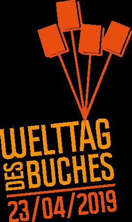 Logo Welttag des Buches 2019©MDG-Nienburg