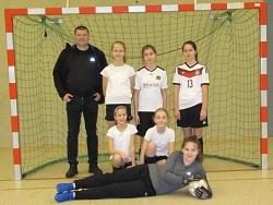 Mädchen-Mannschaft des MDG