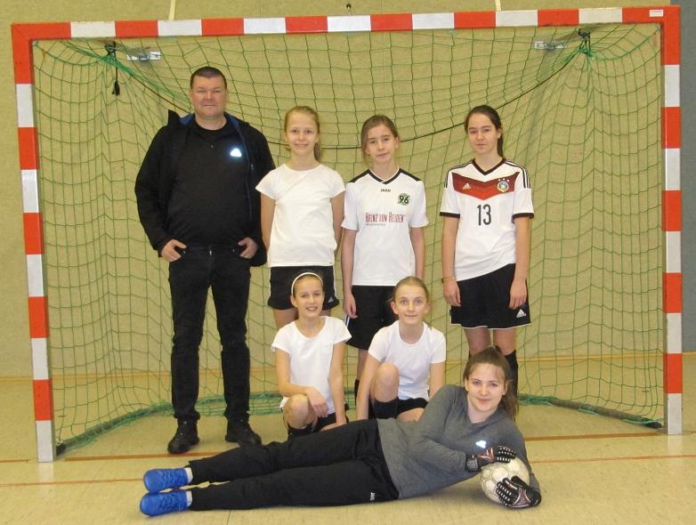 Mädchen-Mannschaft des MDG©MDG-Nienburg