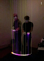 Laser-Harfe