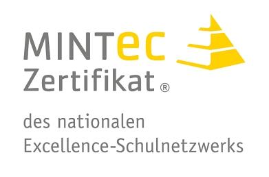 MINT-EC Zertifikat Logo©Marion-Dönhoff-Gymnasium