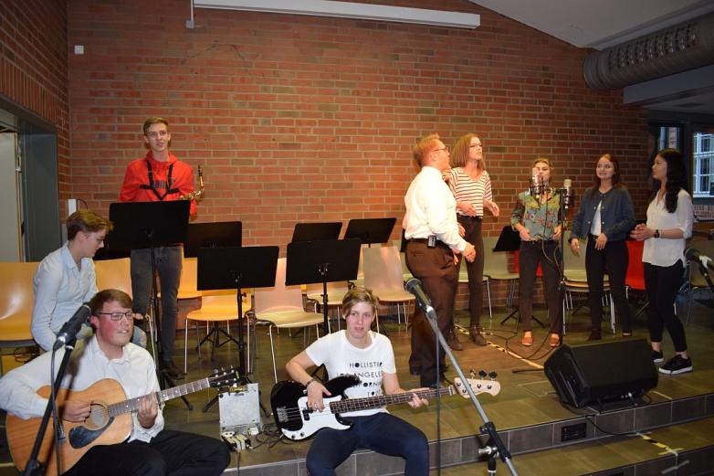 Musik-LK in Aktion©MDG-Nienburg