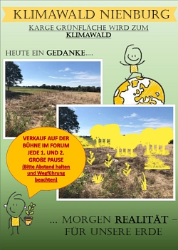 Klimawald Plakat