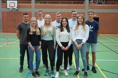 Schulsportstaffette Vorbereitungsteam©MDG-Nienburg
