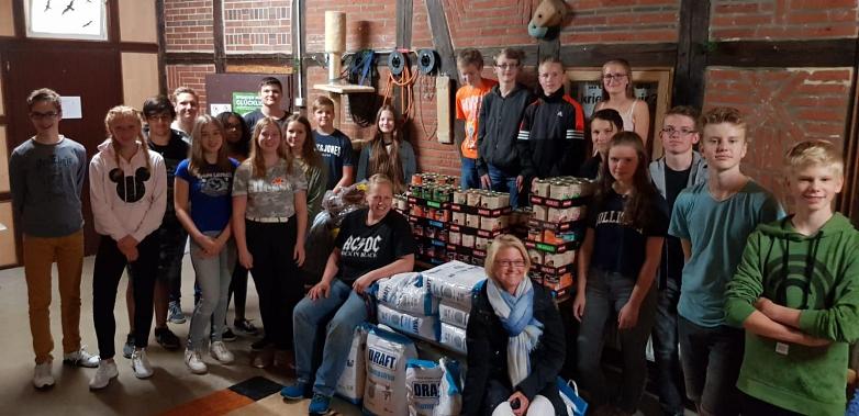 Spendenübergabe Tierheim Schessinghausen 9c 2018©MDG-Nienburg