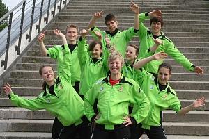 Teamfoto Badminton-Berlin