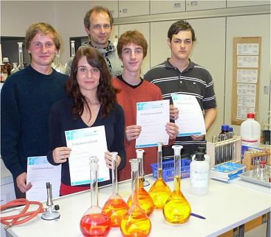 Gruppenbild der Teilnehmer 2009