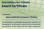 Umweltschule-Urkunde-2013