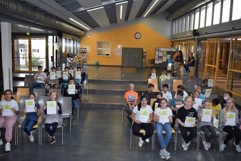 Viele Teilnehmer können sich über Urkunden freuen©MDG-Nienburg