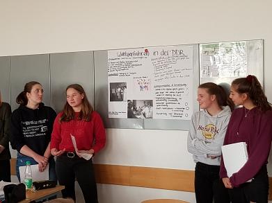 Vorträge als Vorbereitung zum Thema©MDG-Nienburg